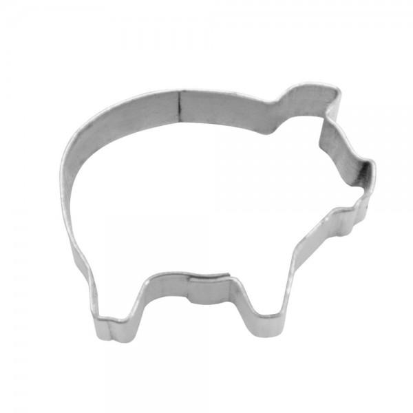 Ausstecher Schwein ca. 1,5 cm Mini