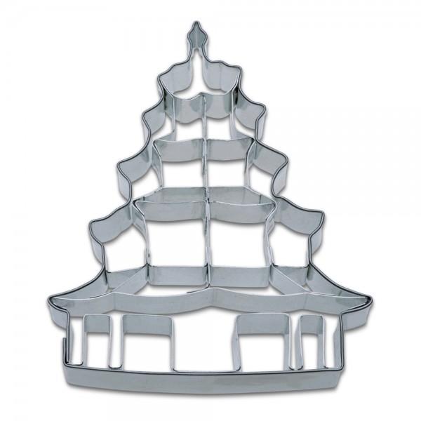 Prägeausstecher Chinesischer Turm – Englischer Garten München ca.