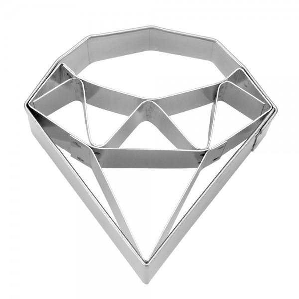 Prägeausstecher Diamant ca. 5 cm