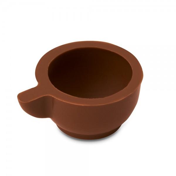 Pralinen Hohlkörper Tasse ø 31 mm Vollmilchschokolade 54 Stück 200 g