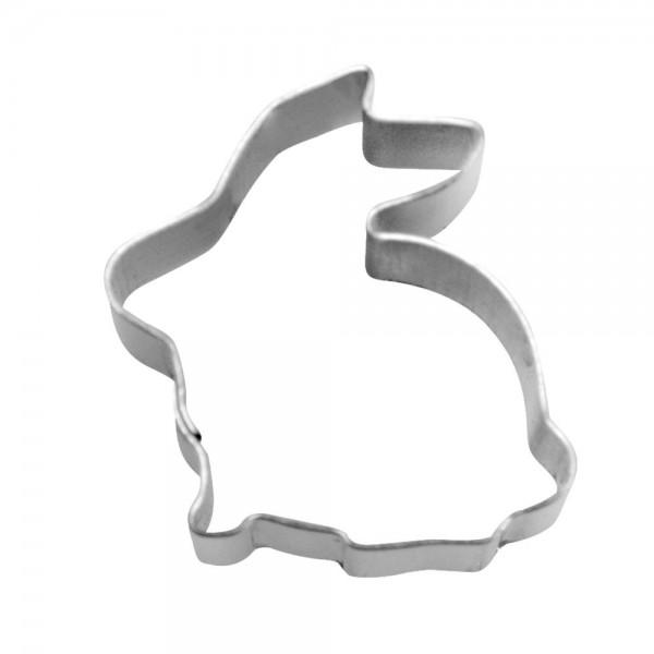 Ausstecher Hase sitzend ca. 1,5 cm Mini