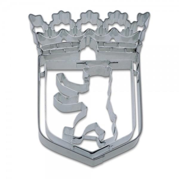 Prägeausstecher Berlin Wappen ca. 9,5 cm