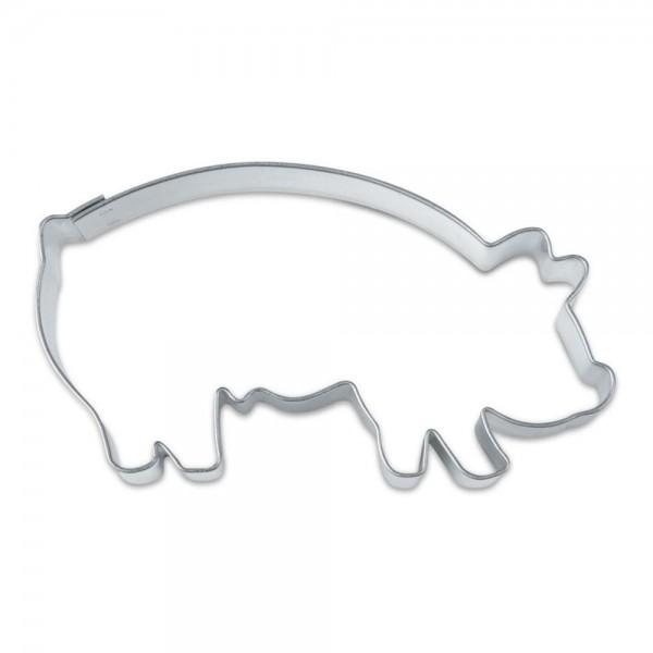 Ausstecher Glücksschwein ca. 8 cm
