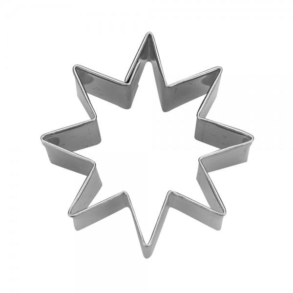 Ausstecher Stern ca. 4,5 cm 8-zackig