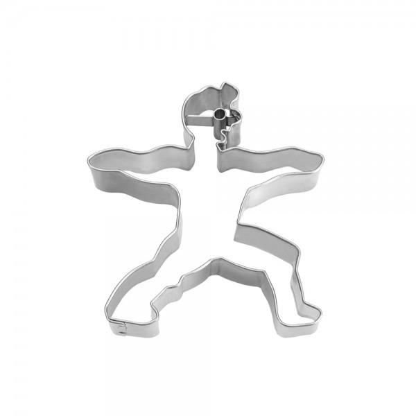 Ausstecher Krieger 2 ca. 7,5 cm BRIGITTEs Yogastunde