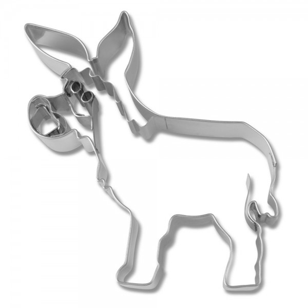 Prägeausstecher Esel ca. 10,5 cm