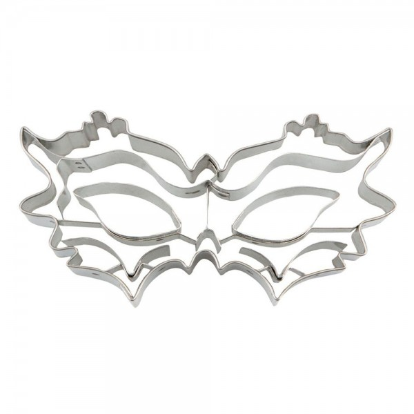 Prägeausstecher Maske ca. 10,5 cm