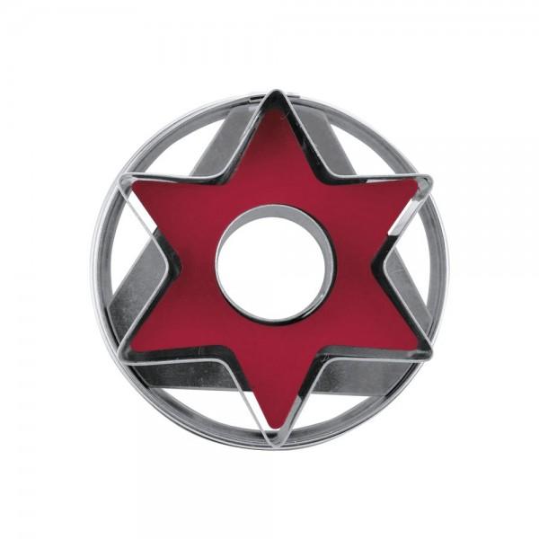 Ausstecher Stern ca. 4,8 cm zerlegbar