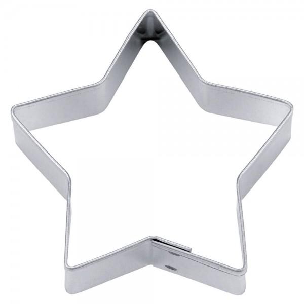 Ausstecher Stern ca. 5 cm 5-zackig