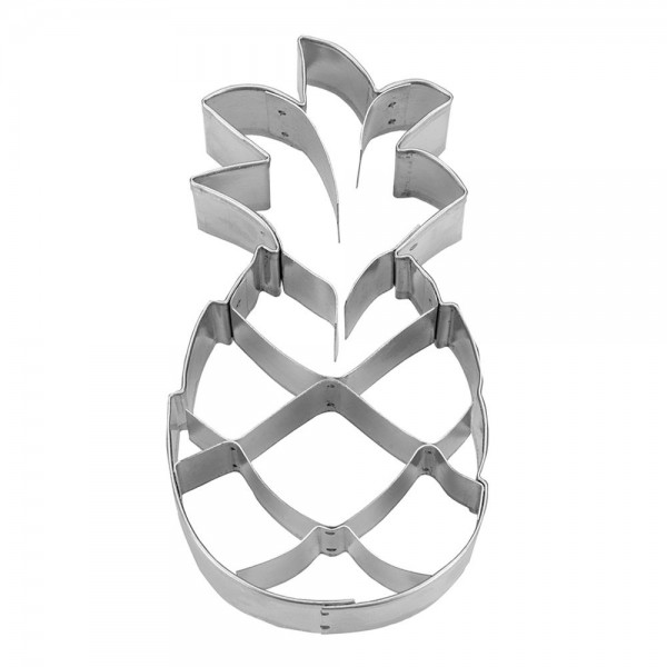 Prägeausstecher Ananas ca. 9,5 cm
