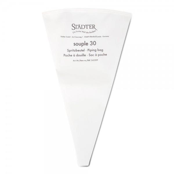 Profi-Spritzbeutel ca. 30 cm Weiß souple 30