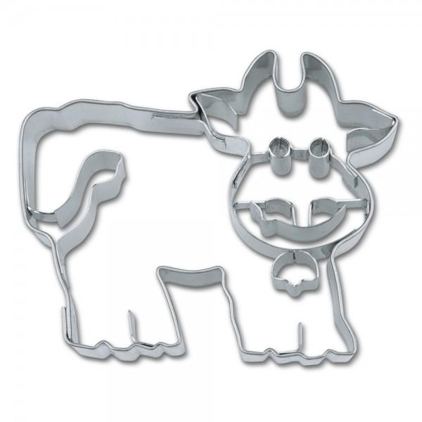 Prägeausstecher Kuh ca. 7 cm