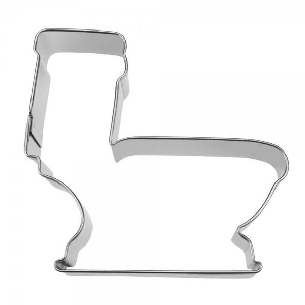 Ausstecher Toilette ca. 9,5 cm