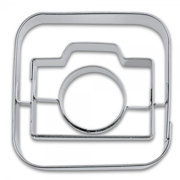 Prägeausstecher App-Cutter Camera ca. 6,5 cm