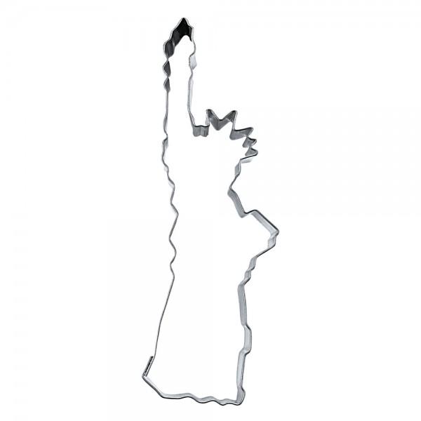 Ausstecher Freiheitsstatue New York ca. 10,5 cm