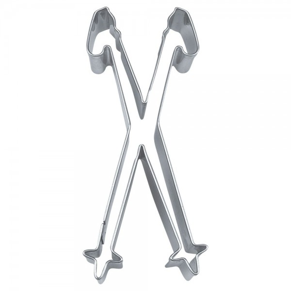 Ausstecher Skistöcke ca. 10 cm