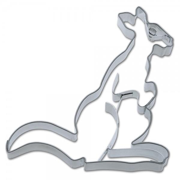 Prägeausstecher Känguru ca. 13 cm