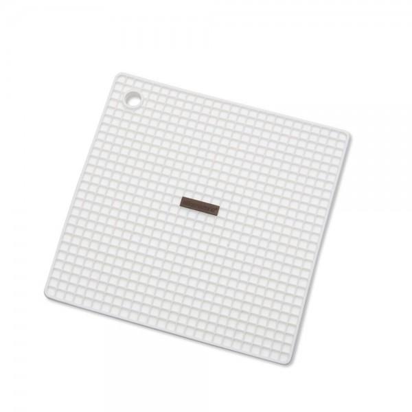 Topfhalter / Untersetzer ca. 18,5 x 18,5 cm Weiß S