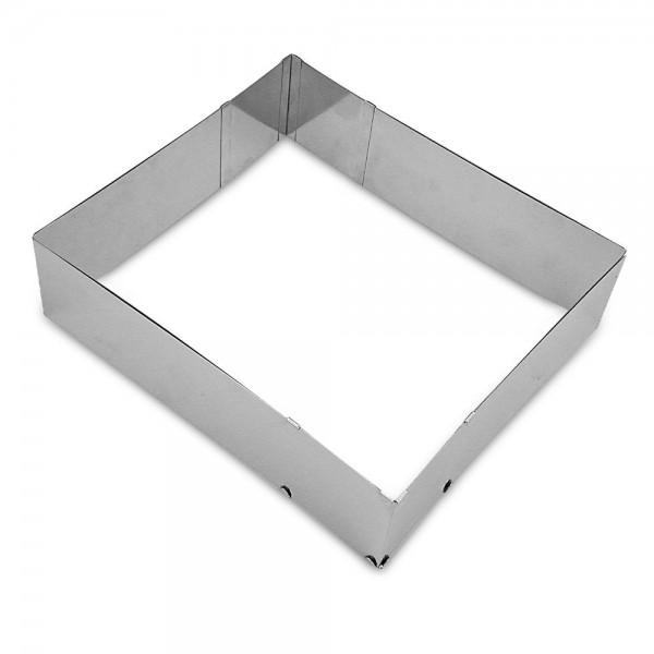 Backrand Moos ca. 25–50 x 22–41 cm / H 7 cm verstellbar