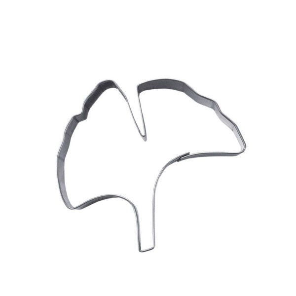 Ausstecher Ginkgoblatt ca. 6,5 cm