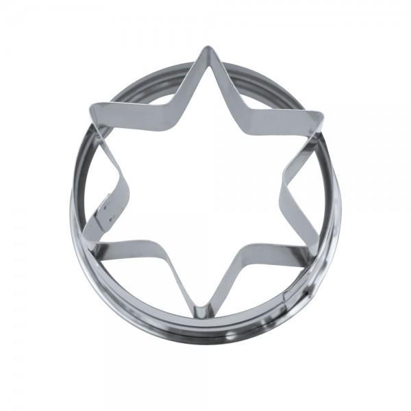 Ausstecher Stern ca. 4,8 cm Außenring