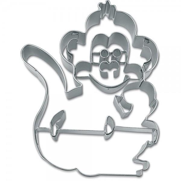 Prägeausstecher Affe ca. 9,5 cm
