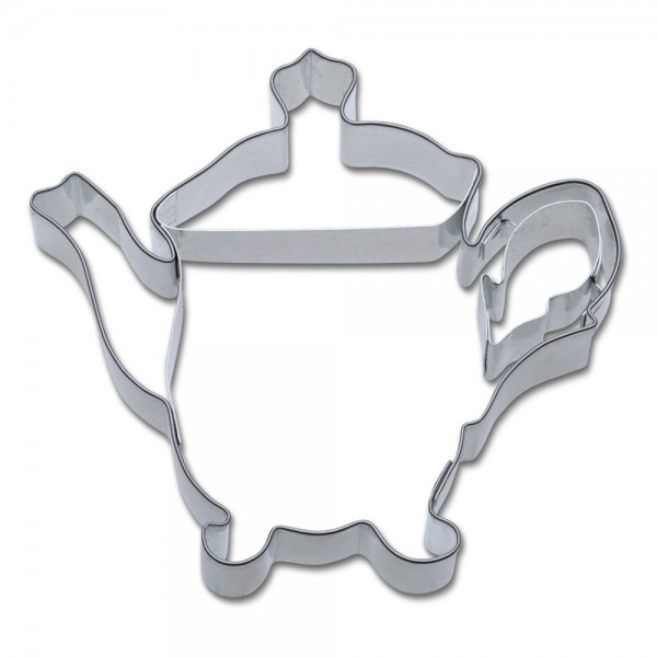 Prägeausstecher Teekanne / Kaffeekanne ca. 8 cm