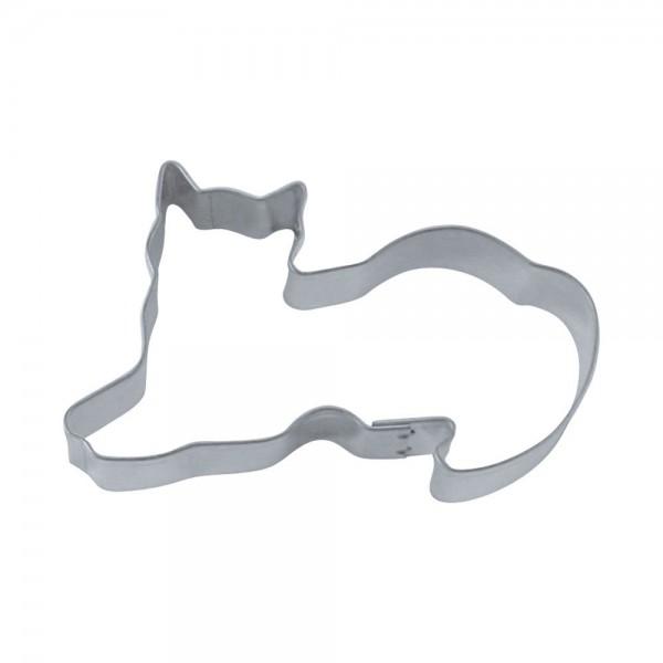 Ausstecher Katze ca. 6 cm liegend