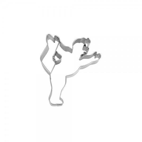 Ausstecher Tänzer ca. 7 cm  BRIGITTEs Yogastunde