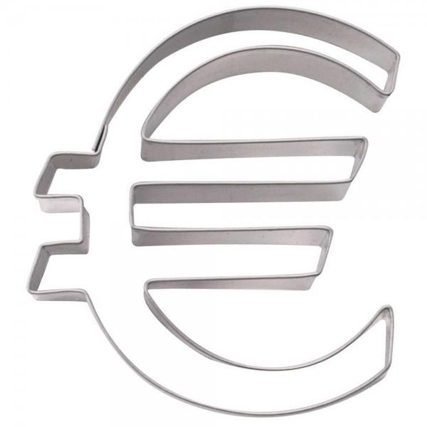 Ausstecher € - Euro-Zeichen ca. 8 cm