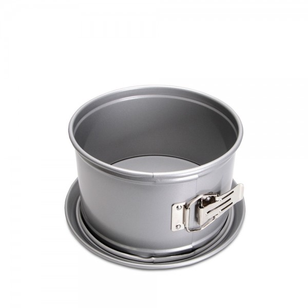 We-Love-Baking Springform ø 18 cm / H 10,5 cm Silber mit Flachbod