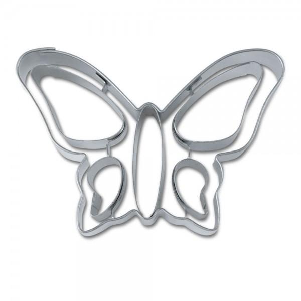 Prägeausstecher Schmetterling ca. 8 cm