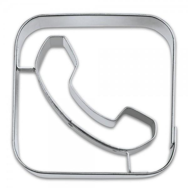 Prägeausstecher App-Cutter Phone ca. 6,5 cm