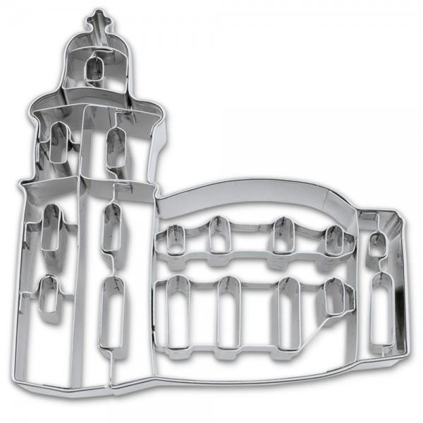Prägeausstecher Paulskirche Frankfurt ca. 11 cm