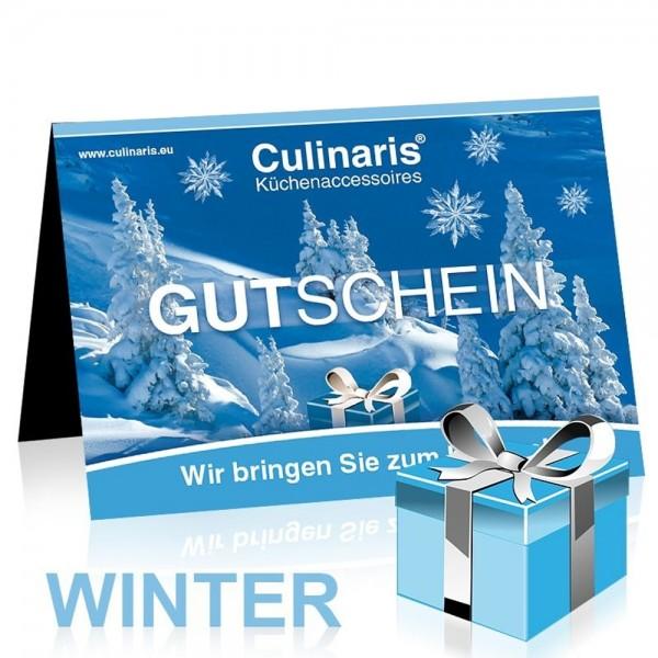 Gutschein Verkauf Motiv: Winter