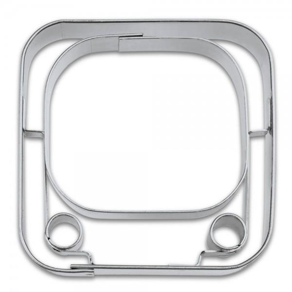 Prägeausstecher App-Cutter Y-Tube ca. 6,5 cm