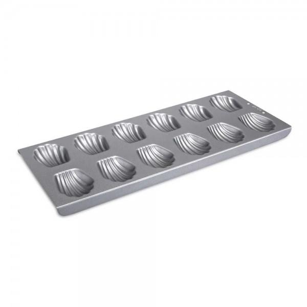 We-Love-Baking Bärentatze / Madeleines Metall Silber 35 x 14,5cm