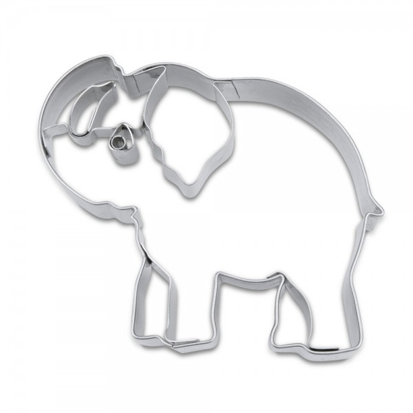 Prägeausstecher Elefant ca. 8 cm