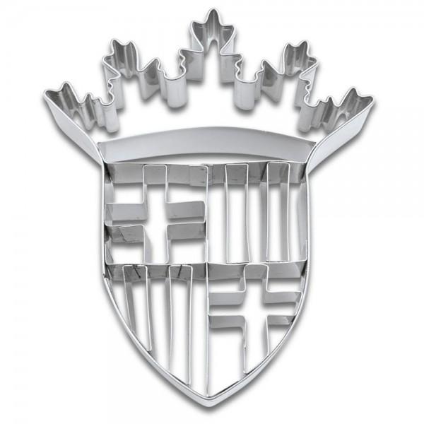 Prägeausstecher Barcelona Wappen ca. 9 cm