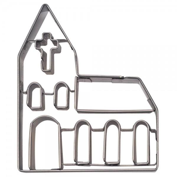 Prägeausstecher Kirche ca. 8 cm
