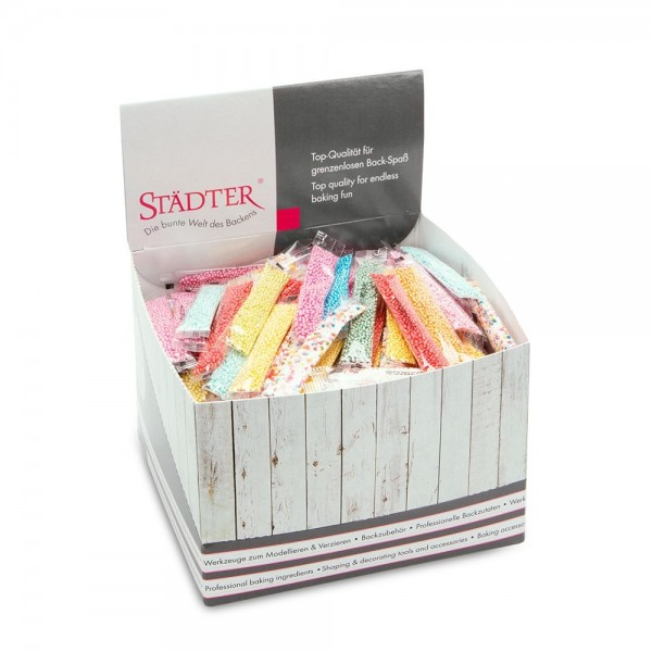 Display Nonpareilles 250x4g Bunt 250 Sticks 1.000 g