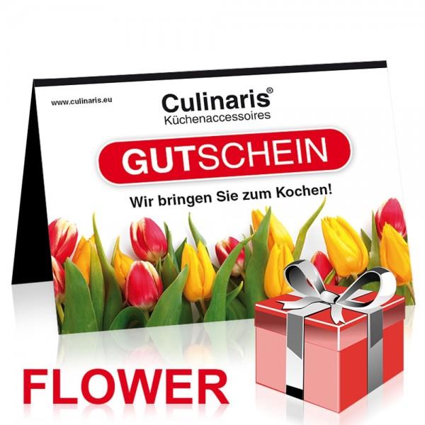 Gutschein Verkauf Motiv: Flower