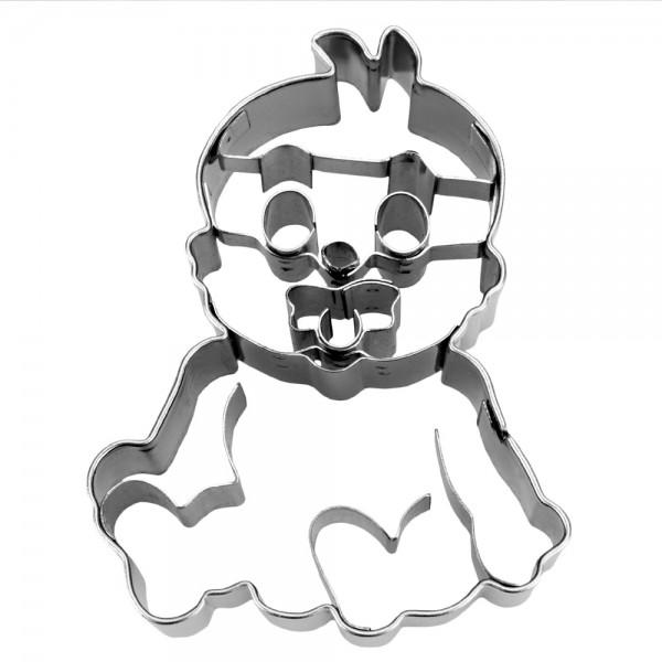 Prägeausstecher Baby ca. 7 cm