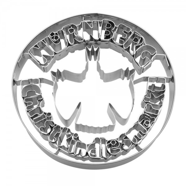 Prägeausstecher Nürnberg Christkindlesmarkt® ca. 10 cm