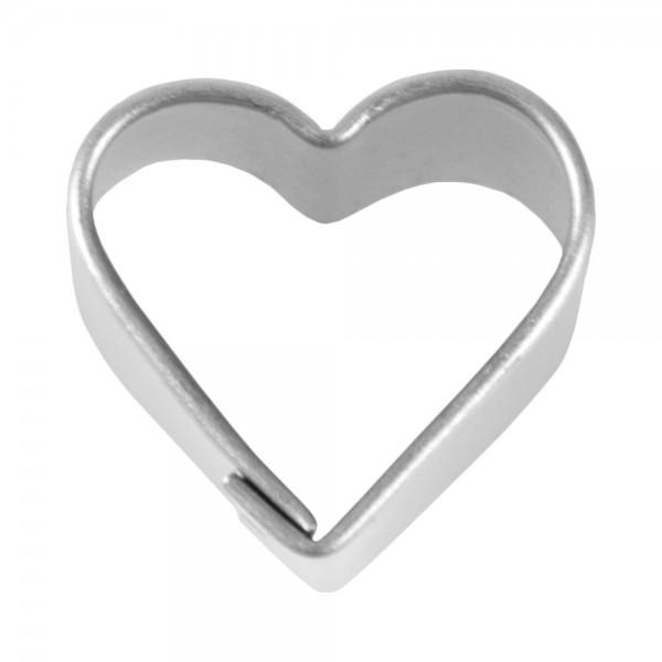 Ausstecher Herz ca. 1,5 cm klein