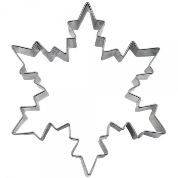 Ausstecher Eiskristall ca. 8 cm
