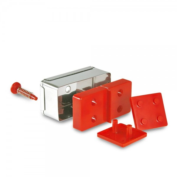 Prägeausstecher Domino ca. 6 x 3 x 2,2 cm Set, 15-teilig