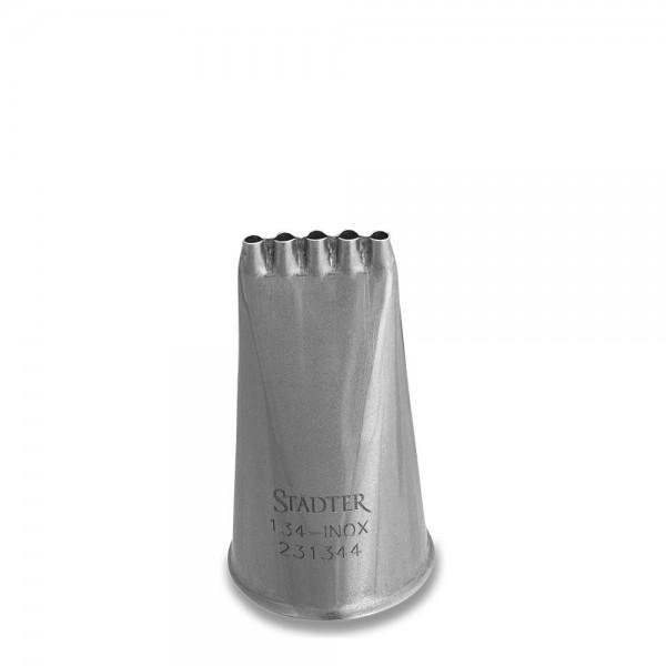 Tülle Spezialtülle Notenlinien 18 mm #134