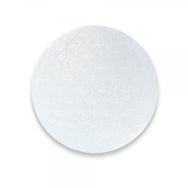 Kuchenplatte ca. ø 15 cm Weiß Rund