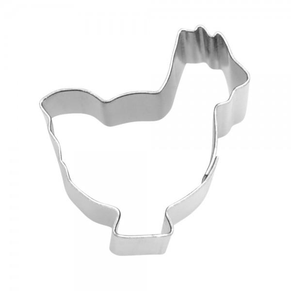 Ausstecher Henne / Huhn ca. 1,5 cm Mini